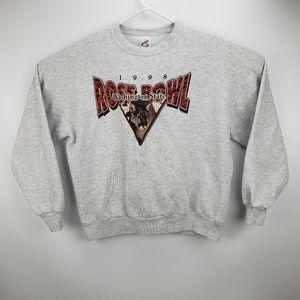 Vtg 1998 Washington State Rose Bowl Sweatshirt XL